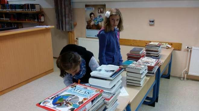 Sachbücher sortieren