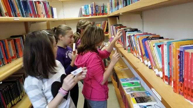 Bücher etikettieren