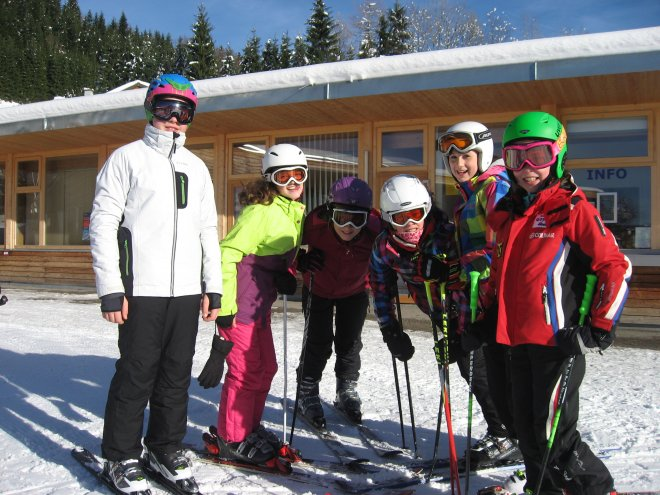 Erste Einheit Schi und Snowboard 2013
