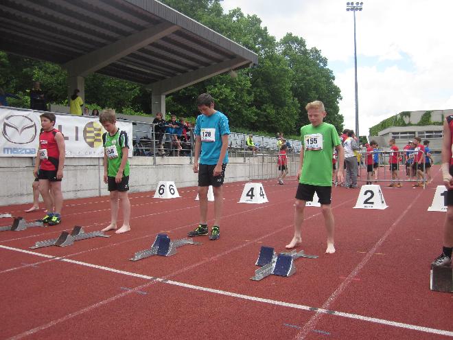 Leichtathletik LM