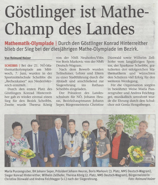 M Olympiade Land NÖN 24 2017